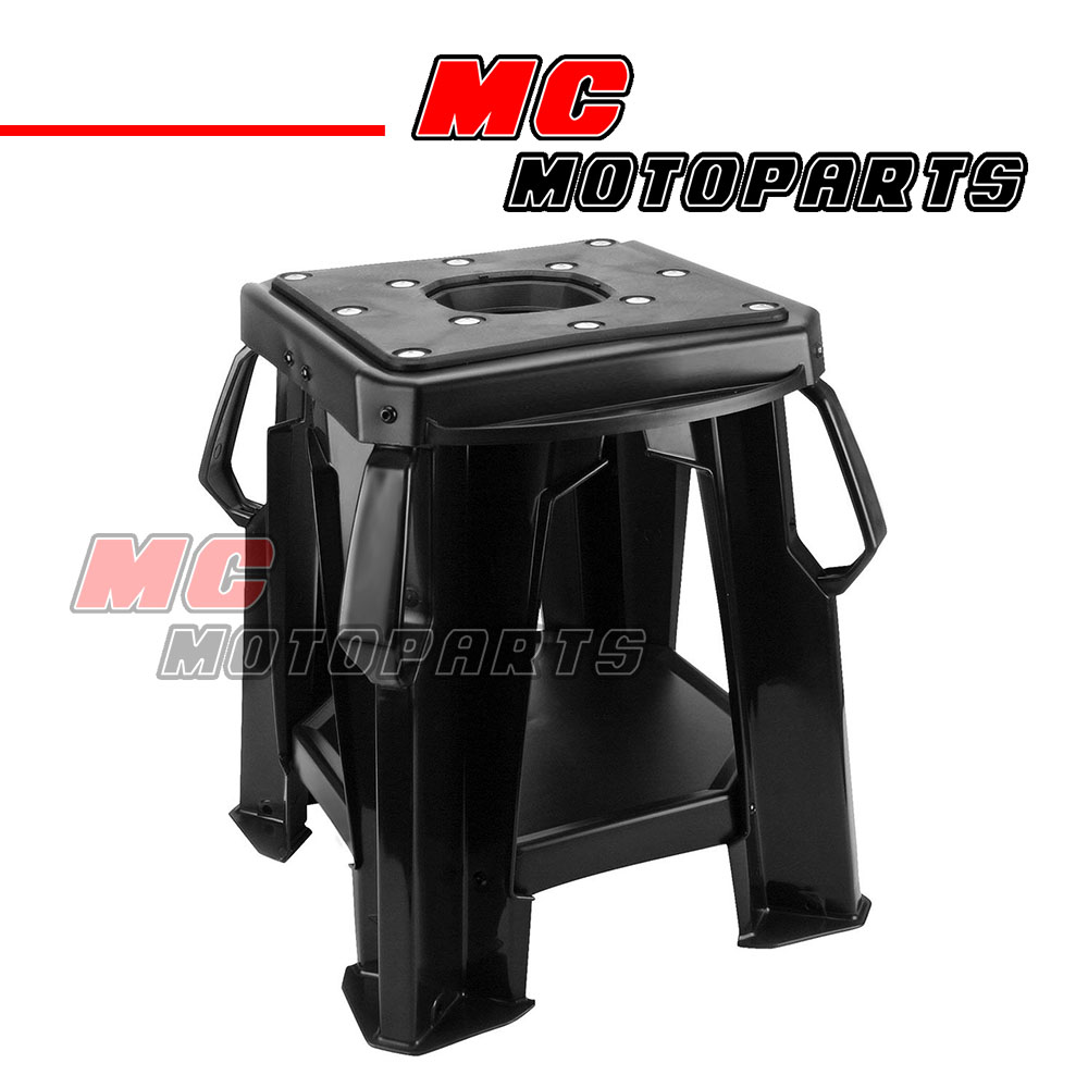 motocross easy repair moto stand fit mx dirt bike motorcycle track day offroad ebay. Black Bedroom Furniture Sets. Home Design Ideas