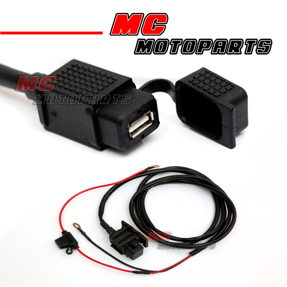 Usb Charger Waterproof Power Socket Kit 12v For Triumph