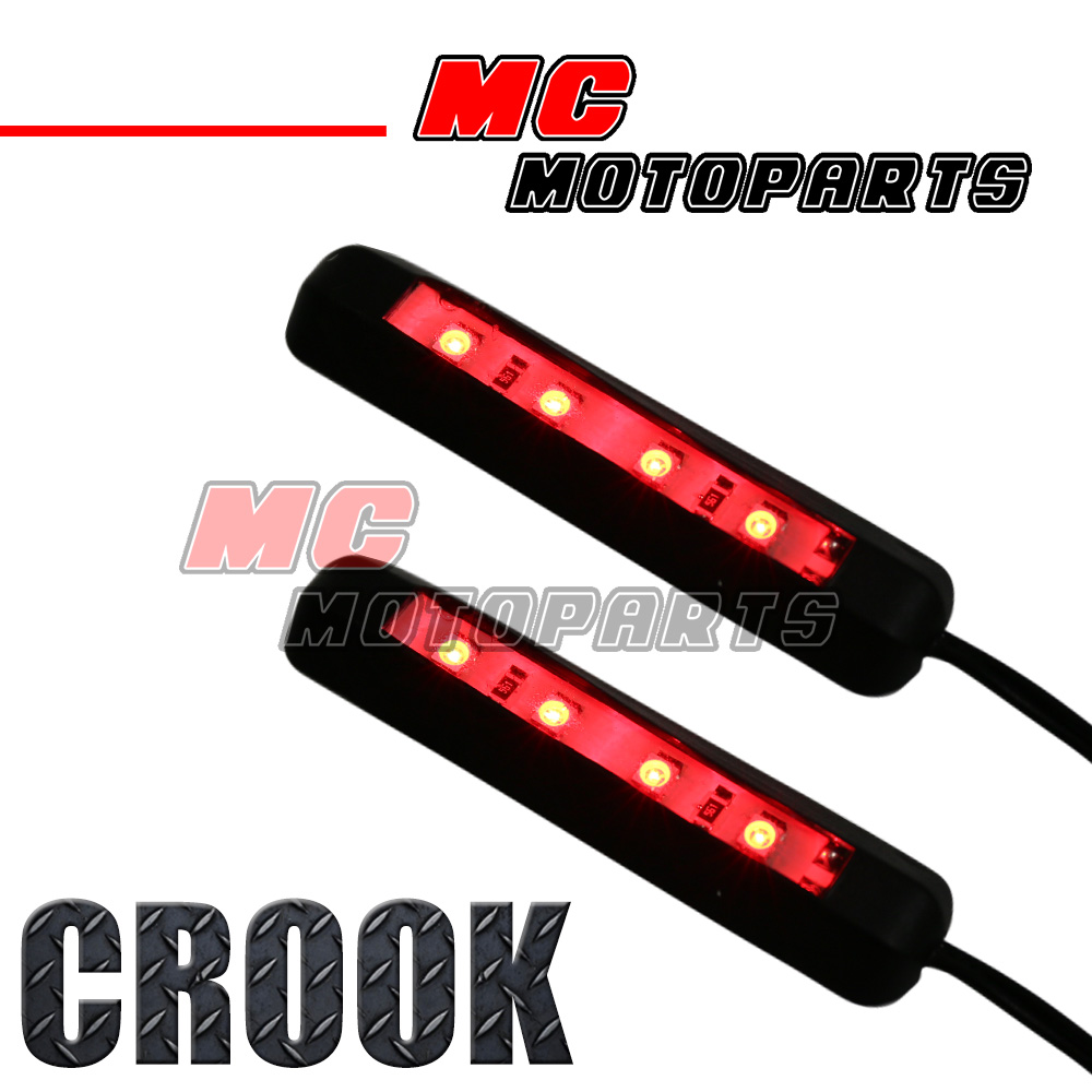 Ducati Monster 900 Wiring Manual Of Diagram 2000 Crook Red Smd Bend Led Light X2 For 620 750