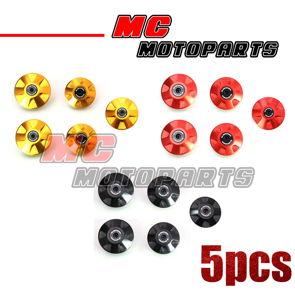 MC-Motoparts-CNC-Frame-Plugs-Kit-For-Ducati-Monster-620-ie-2002-2006-03-04-05